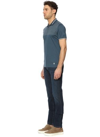 Corneliani Polo Yaka Tişört Mavi